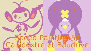 Speed Painting #54 Capidextre et Baudrive