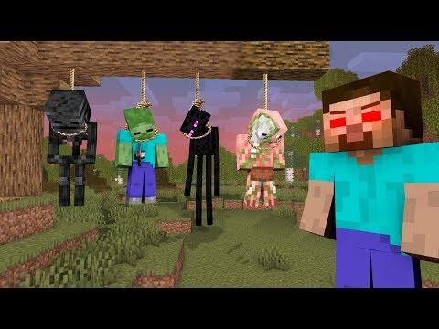 MONSTER SCHOOL : HEROBRINE BECAME VILLAIN - RIP ENDERMAN, WITHER - Sad Minecraft Animation