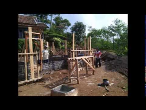 pembangunan rumah  bu nunung 75% Fart#1