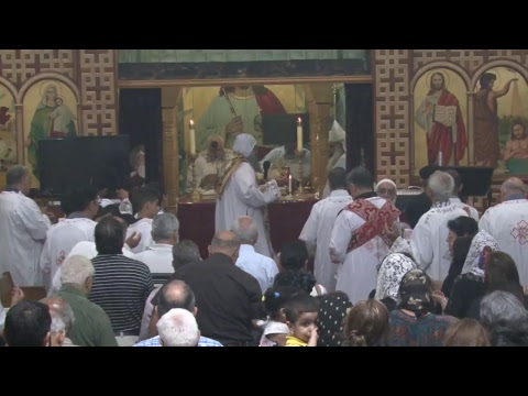 Saturday Liturgy - H.G.Bishop Peter , Fr. David Bebawy , Fr. Anthony Basily - 07/22/2017