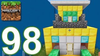 Minecraft: PE - Gameplay Walkthrough Part 98 - Find The Button: Tiny Houses Edition (iOS, Android)