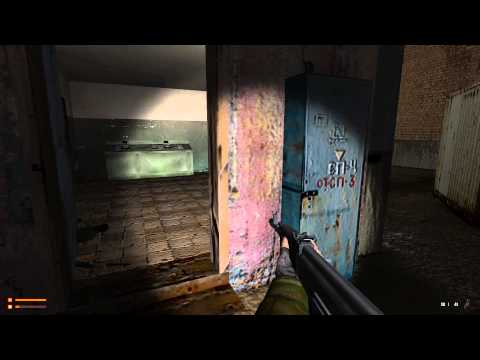 Paranoia gameplay, part 2. Russian army / officer of the secret service (Half-Life 1 engine)