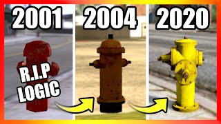 Evolution of FIRE HYDRANTS Logic | GTA Games (2001-2020)