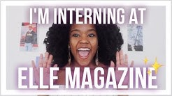 How I Landed An Internship at ELLE Magazine as a Freshman in College