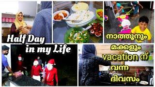 നാത്തൂനും മക്കളും vacation കൂടാൻ വന്ന ദിവസം||chicken curry||neychoru||coolbar style lime||vlog||