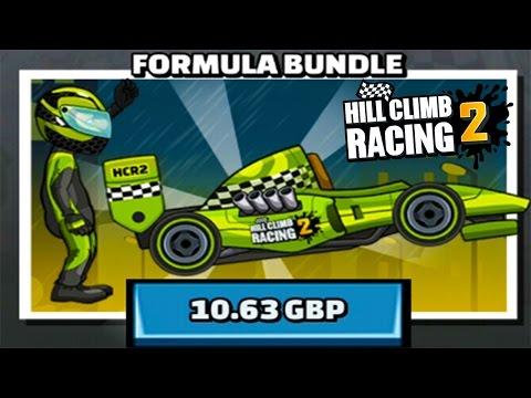 Hill Climb Racing 2 - New Vehicle Formula Bundle Unlocked