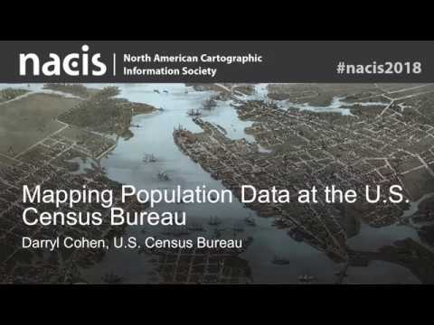 Mapping Population Data At The U.S. Census Bureau