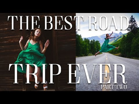 THE BEST ROAD TRIP EVER! PART 2 || SILVERTON & OURAY, COLORADO