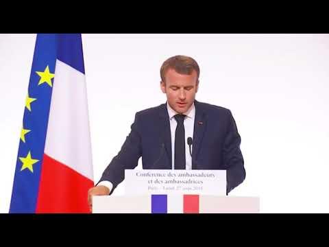 Remise du rapport à Emmanuel Macron - 27 août 2018