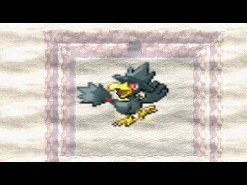 how to catch murkrow in fire red