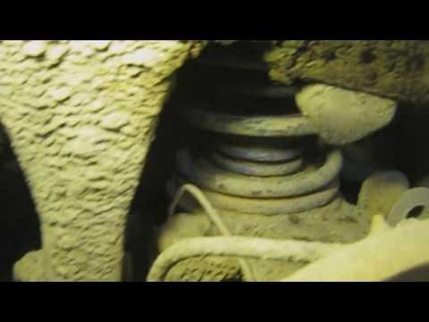 видео: установка дополнительных пружин на задний мост Мицубиси паджеро(mitsubishi pajero)