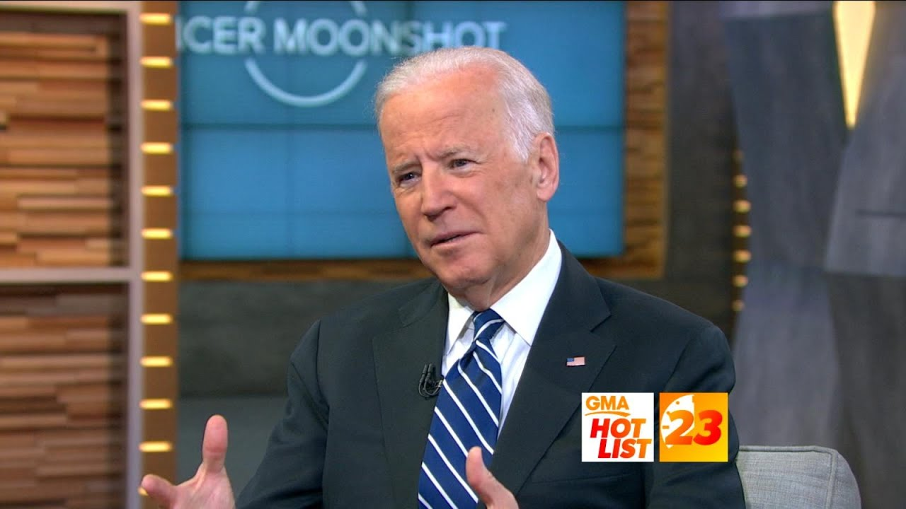 Joe Biden says 'we're gonna cure cancer' if he's elected president