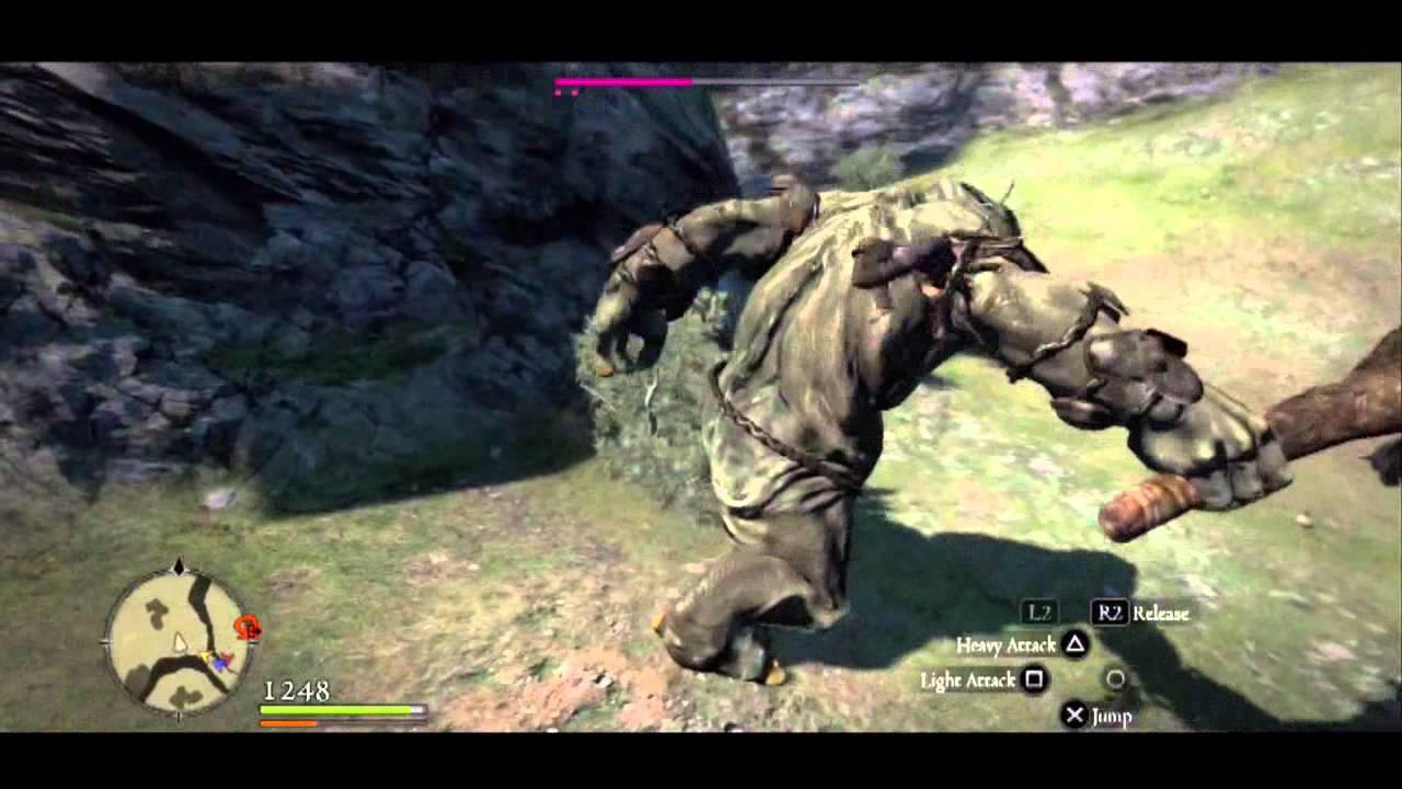 Dragon's Dogma gameplay Assassin vs Cyclops YouTube
