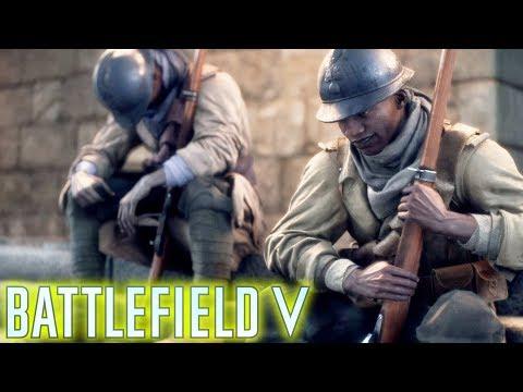 ជ័យជំនះកងទពបារ៉ាងលើពួកអាល្លឺម៉ង់ - Battlefield 5 WWII Gameplay #7 thumbnail