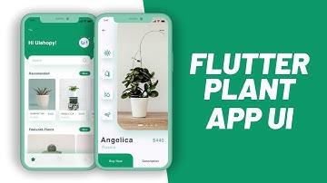 Plant App - Flutter UI - Speed Code