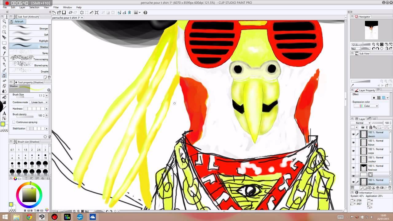 Perruche rappeuse dessin acc l r youtube - Dessin perruche ...