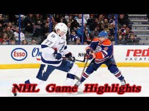 Edmonton Oilers Vs Tampa Bay Lightning 23 12 Nhl