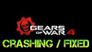 Gears of war 4 pc CRASHING SOLUCION para WINDOWS 10 español