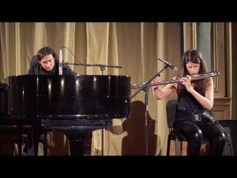 DINO REŠIDBEGOVIĆ: X O pt. II  (modular synthesizers/piano, flute/processors, amplified cello)