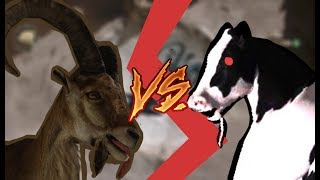 goat vs cow - goat simulator - payday