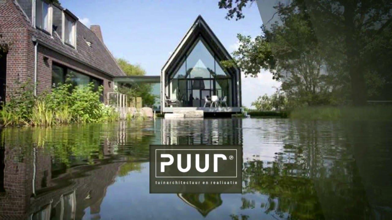 Puur tuinarchitectuur & realisatie visie ontwerp realisatie