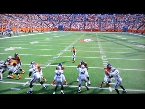 Raiders @ Broncos Week 17 Madden 17 Gameplay