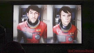 Prey - PS4 Projector Gameplay [Optoma HD 141X]