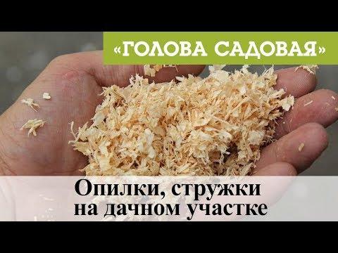 Как использовать опилки на дачном участке