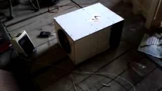 t line box 100 watt kingaudio sub