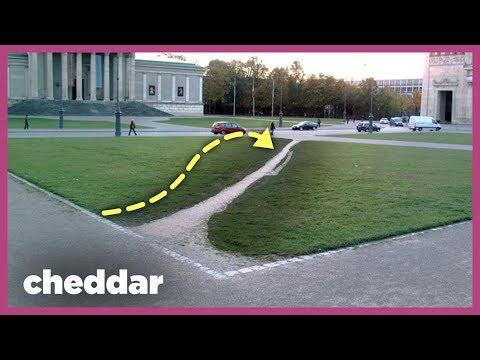 How Footpaths Help Shape Our Technology - Cheddar Explains