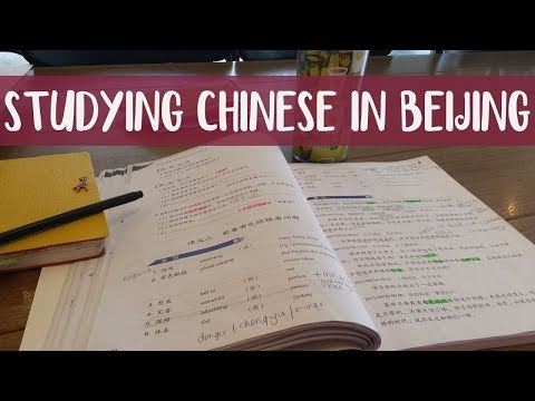 Studying CHINESE (vlog) in BEIJING