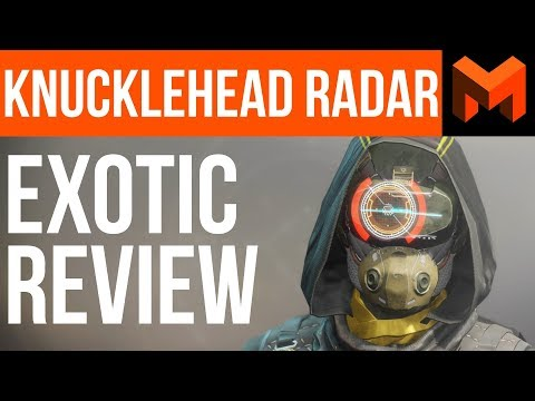 The Best overall Hunter Exotic: Destiny 2 Knucklehead Radar Review