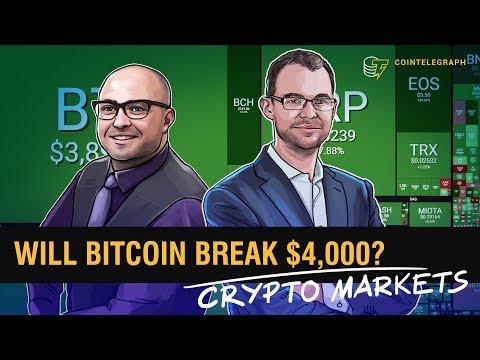 Will Bitcoin Break $4,000? | Crypto Markets