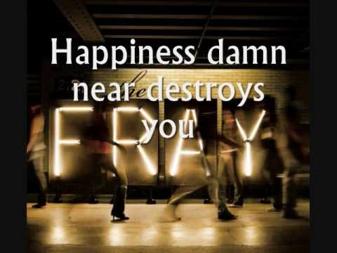The Fray - Happiness - Lyrics
