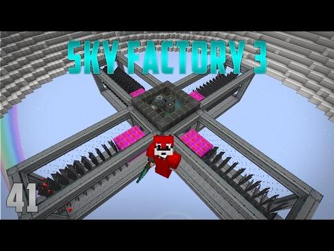 Sky Factory 3 EP 41 Extreme Reactors Turbines