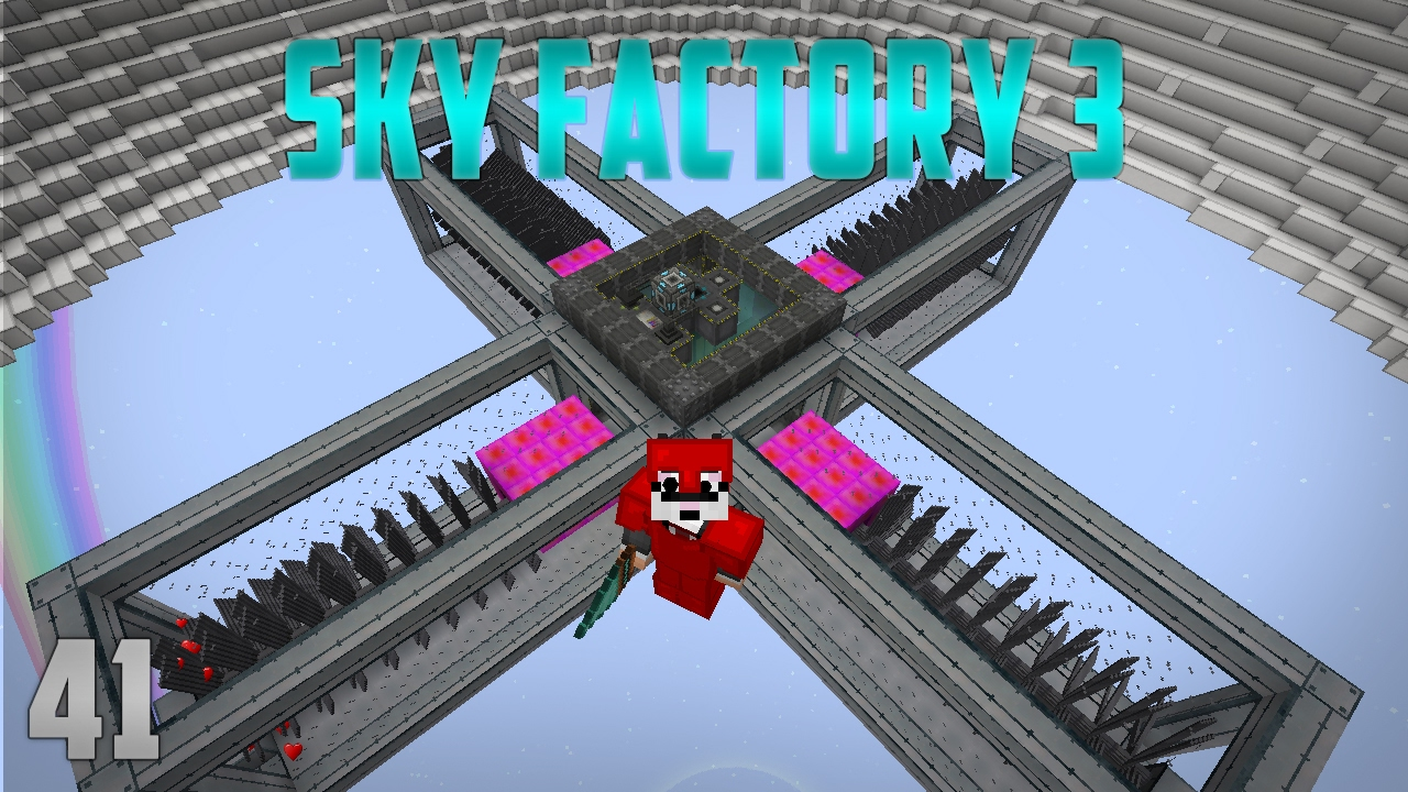 Sky Factory 3 EP 41 Extreme Reactors Turbines by SystemCollapse