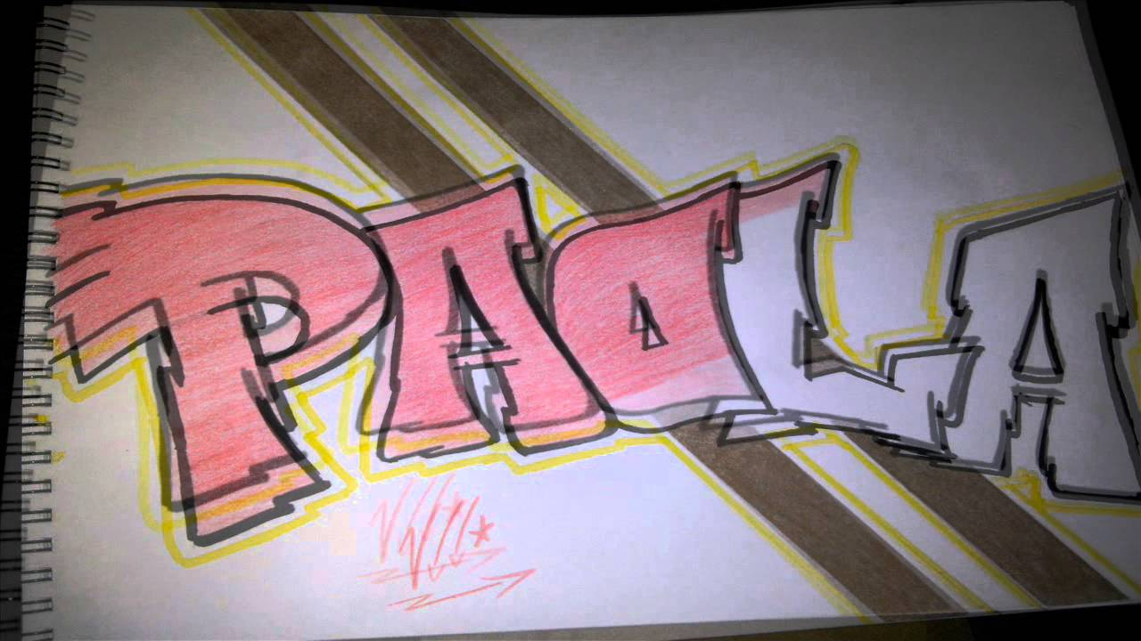 bocetograffitiPAOLA ATOMIC  YouTube
