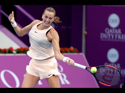 2018 Qatar Total Open Second Round | Petra Kvitova vs. Agnieszka Radwanska | WTA Highlights