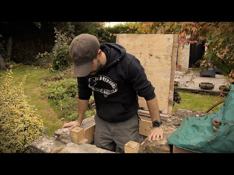 Building the Escape Hatch - WW2 Bunker Rennovation (PART 7)