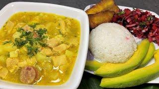 RIQUISIMA sopa de MONDONGO al estilo de rosita cocina - sopas colombianas