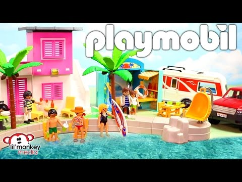 Playmobil Summer Playsets!  Summer Fun | City Action | City Life!