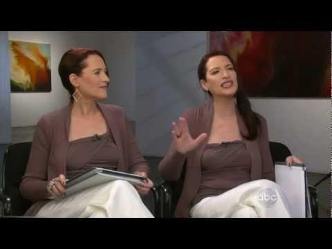 Psychic Twins On Nightline Psychic Twins Youtube