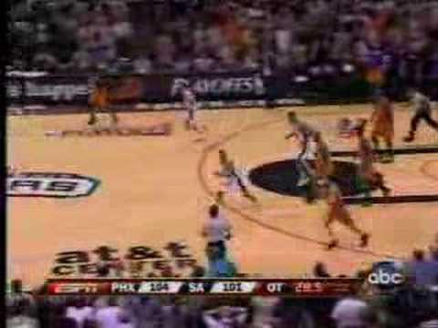 Phoenix suns vs San antonio spurs game 1 2008 playoffs