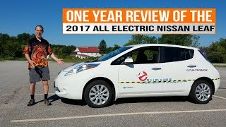In Depth One Year Review of the 2017 Nissan LEAF - 30kWh Battery Pack