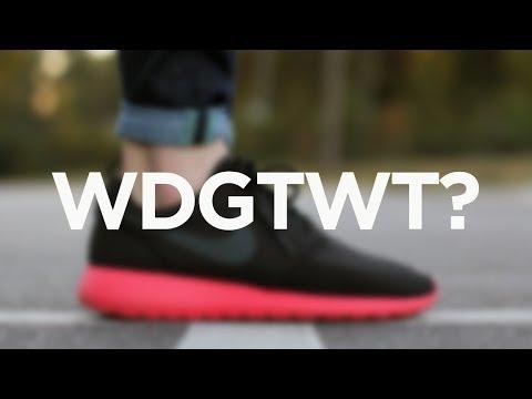 Nike Roshe Run Siren Red Black Anthracite