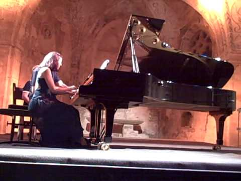 Emile Naoumoff's own Valse Ritournelle for piano four hands played with Rebecca Chaillot