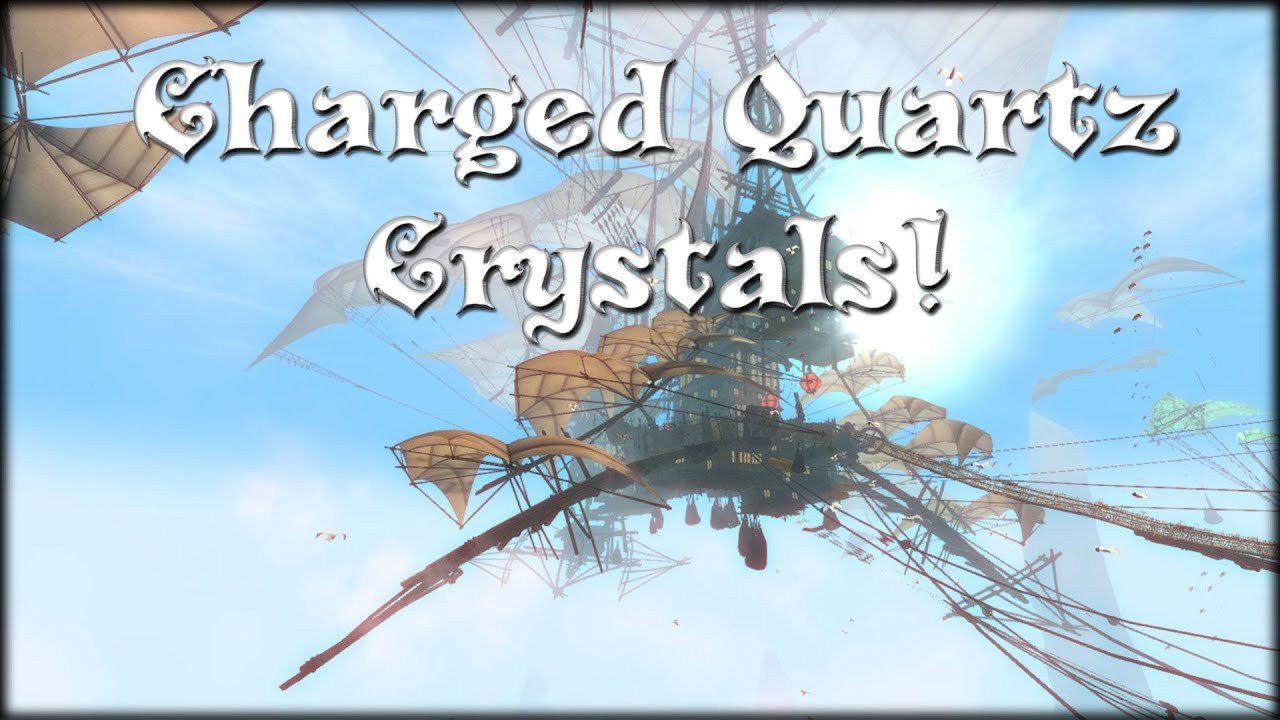 Guild Wars 2 - Charged Quartz Crystals (Obtaining ... Quartz Crystal Gw2