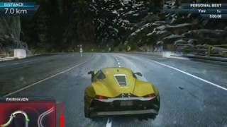 Taking out Most Wanted 7 with Marussia B2 in NFS MW 2012
