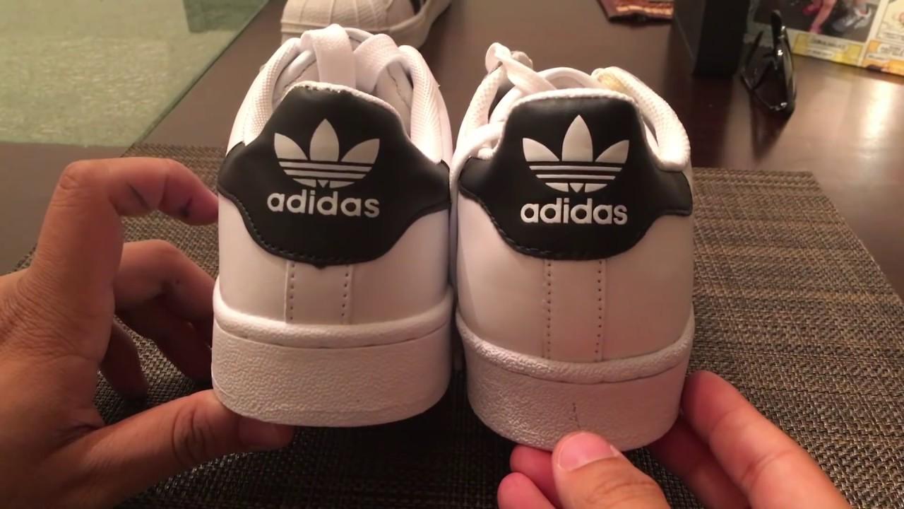 Adidas Shoes Superstars Real Vs Fake 2017