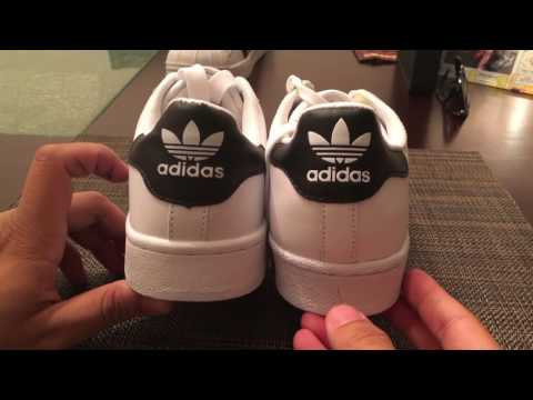 REAL VS. FAKE ADIDAS SUPERSTAR SHOES! YouTube